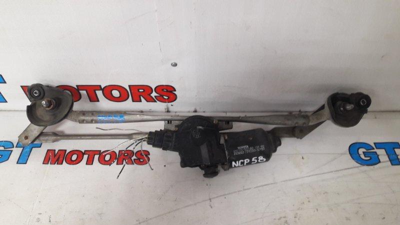 Привод дворников Toyota Probox NCP58 1NZ-FE 2002