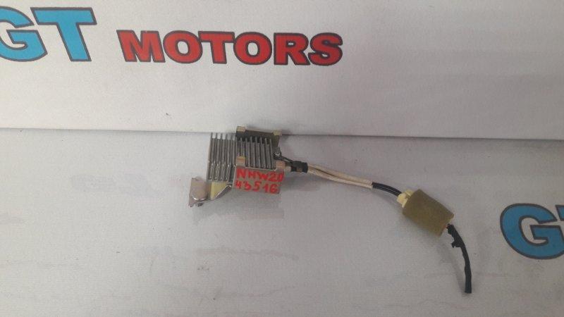 Резистор дополнительный Toyota Prius NHW20 1NZ-FXE 2005