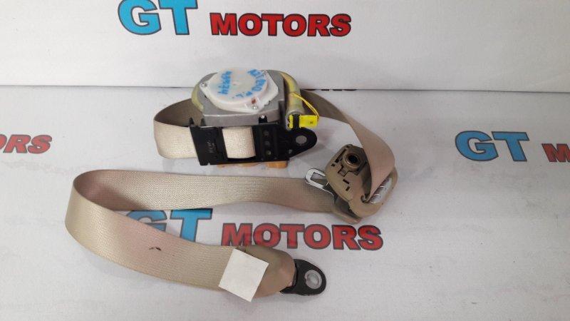 Ремень безопасности Toyota Premio AZT240 1AZ-FSE 2002 передний левый