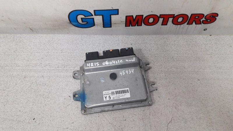 Компьютер (блок управления) Nissan Tiida Latio NC11 HR15DE 2007