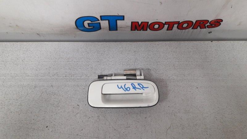 Ручка наружная Toyota Cresta JZX100 1JZ-GE 1996 задняя правая
