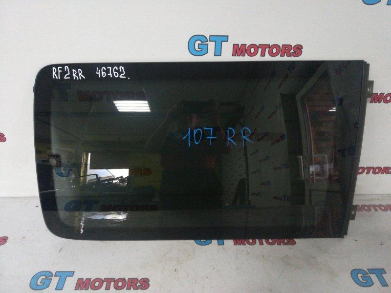 Стекло боковое Honda Stepwgn RF2 B20B 2001 заднее правое