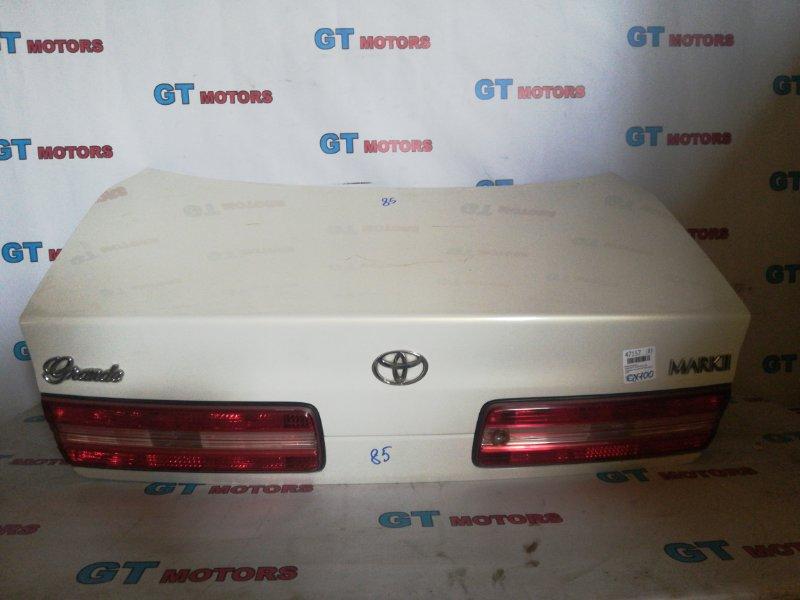 Крышка багажника Toyota Mark Ii GX100 1G-FE 1997