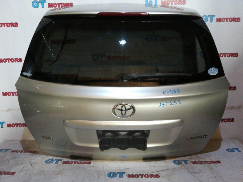 Дверь задняя багажника Toyota Avensis AZT255 1AZ-FSE 2006 задняя