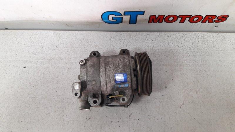 Компрессор кондиционера Nissan Presage TNU31 QR25DE 2004