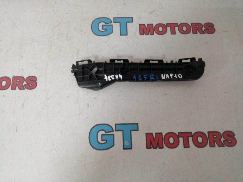 Кронштейн бампера Toyota Aqua NHP10 1NZ-FXE 2013 задний левый