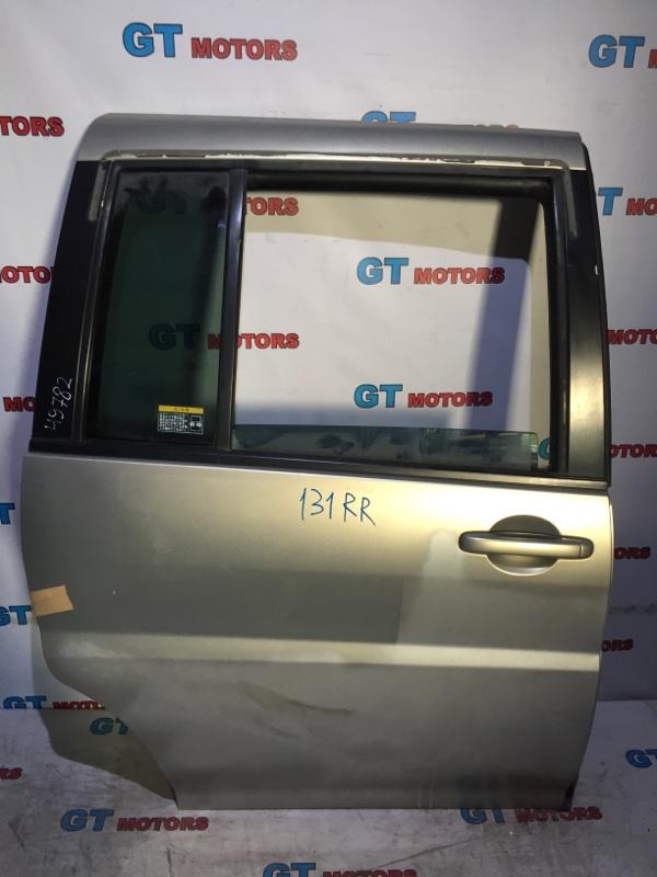Дверь боковая Nissan Liberty RM12 QR20DE 2003 задняя правая