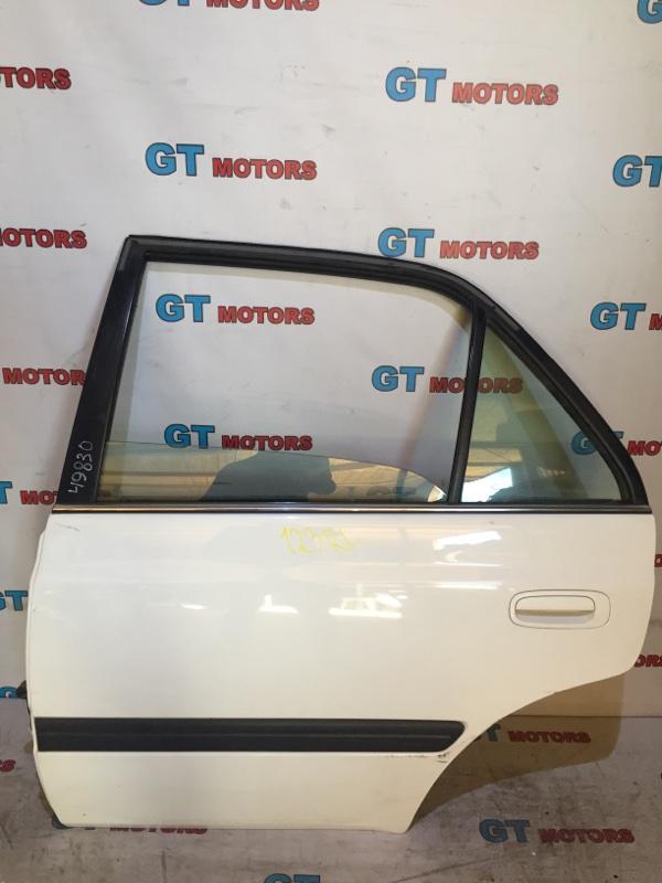 Дверь боковая Toyota Premio AT210 4A-FE 1997 задняя левая
