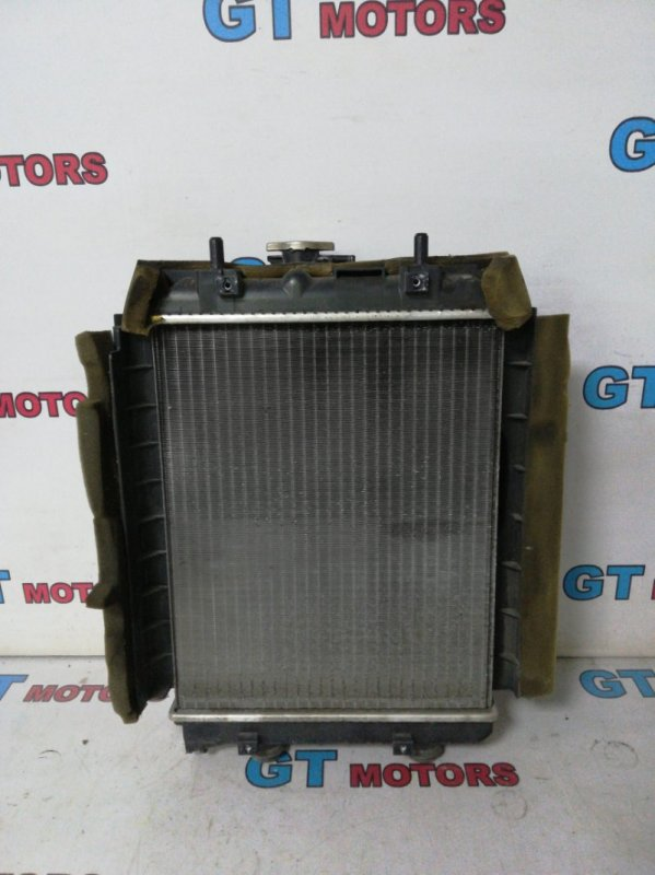 Радиатор двигателя Toyota Passo KGC30 1KR-FE 2010