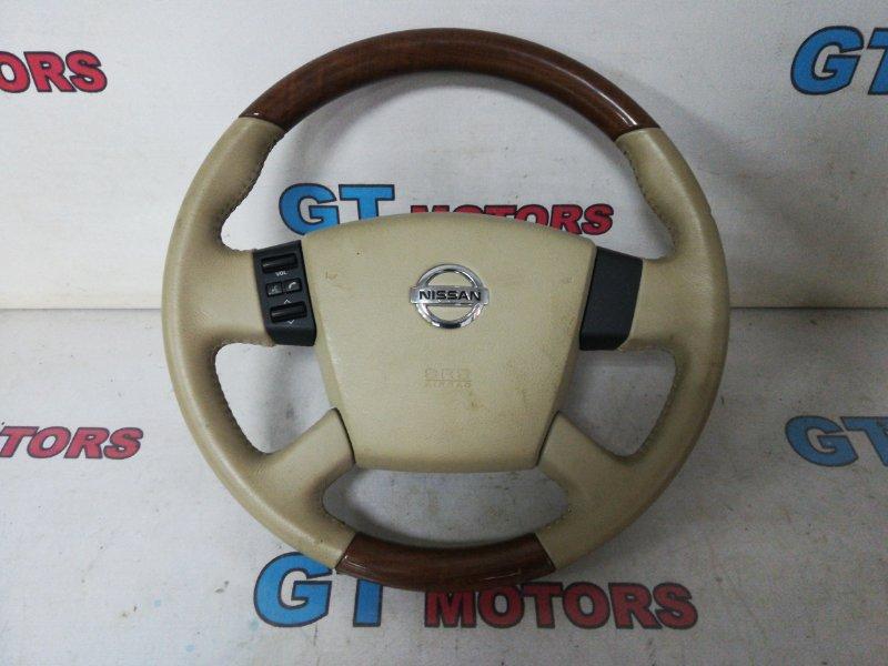 Руль Nissan Teana J31 VQ23DE 2007