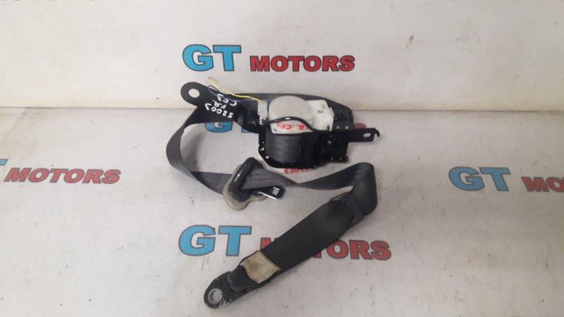 Ремень безопасности Honda Torneo CF3 F18B 2001 передний правый
