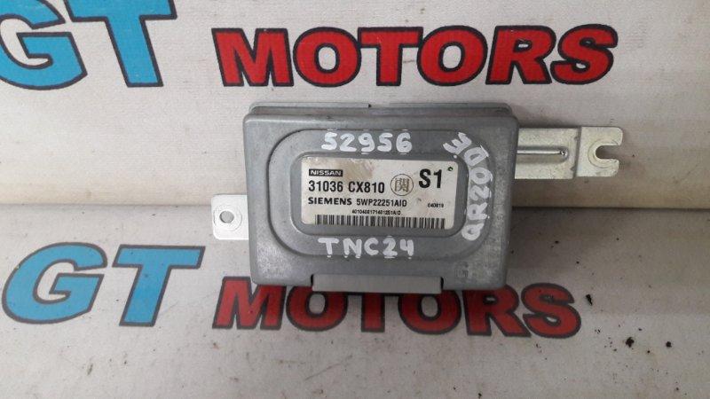 Блок управления кпп Nissan Serena TNC24 QR20DE 2004