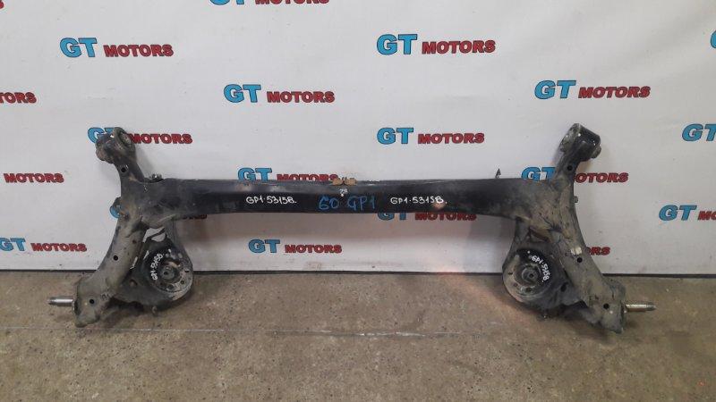 Балка поперечная Honda Fit GP1 LDA 2010 задняя