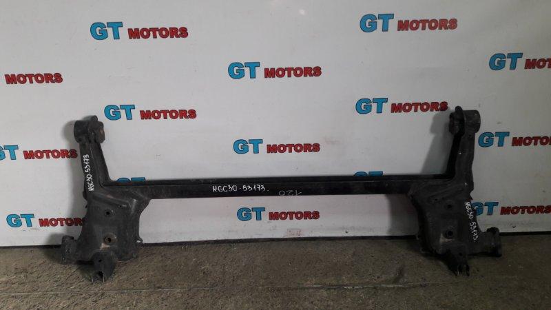 Балка поперечная Toyota Passo KGC30 1KR-FE 2010 задняя