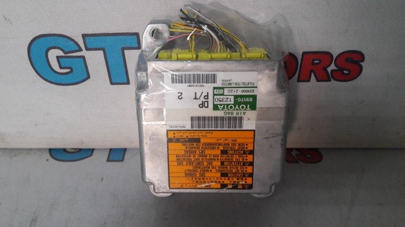 Блок управления airbag Toyota Corolla Fielder ZZE124 1ZZ-FE 2001