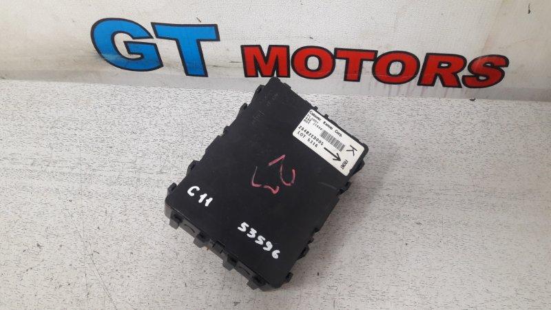 Блок управления Nissan Tiida C11 HR15DE 2005