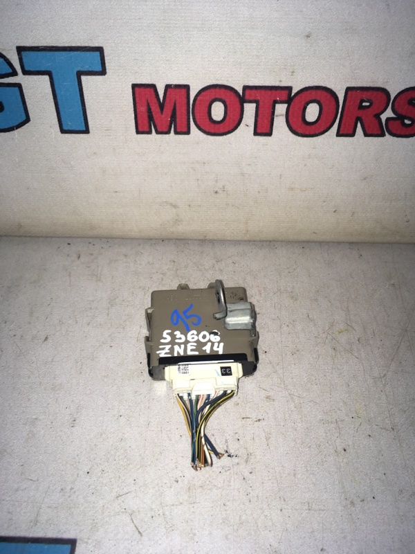 Блок управления освещением Toyota Wish ZNE14G 1ZZ-FE 2006
