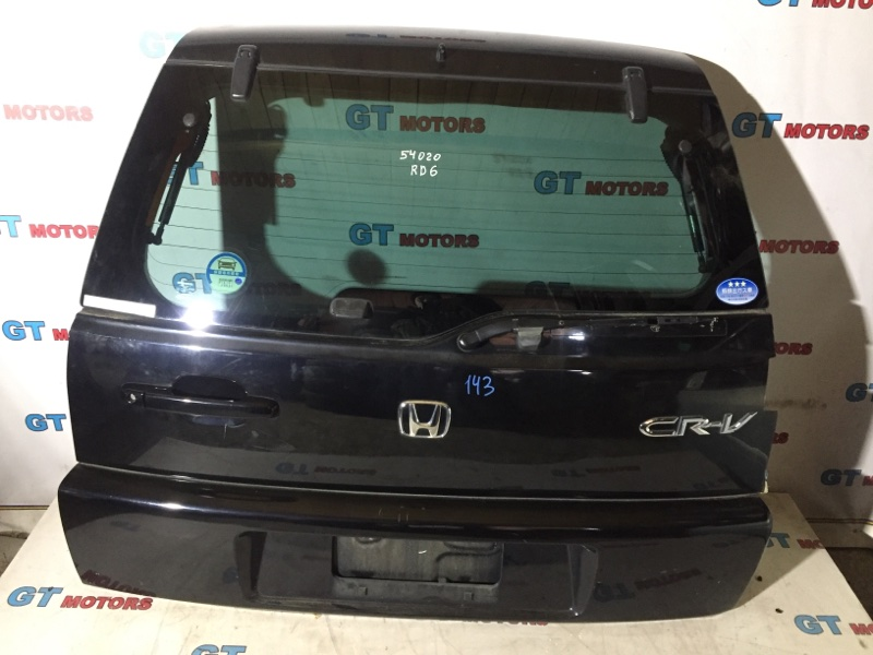 Дверь задняя багажника Honda Cr-V RD6 K24A 2005