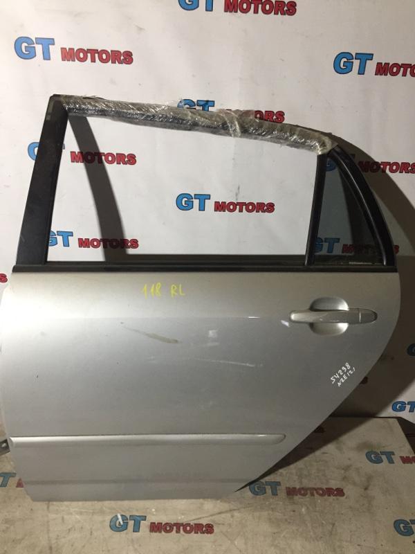 Дверь боковая Toyota Corolla Runx NZE121 1NZ-FE 2003 задняя левая