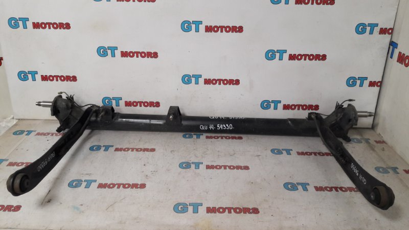 Балка поперечная Nissan Bluebird QU14 QG18DD 1999 задняя