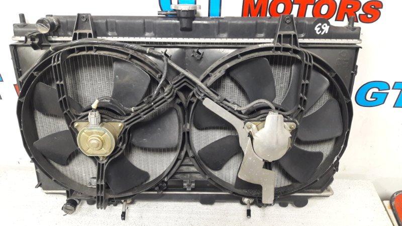 Радиатор двигателя Nissan Bluebird QU14 QG18DD 1999