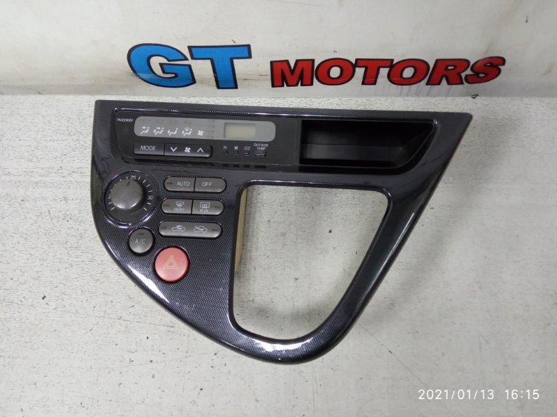 Блок управления климат-контролем Toyota Wish ZNE14G 1ZZ-FE 2004