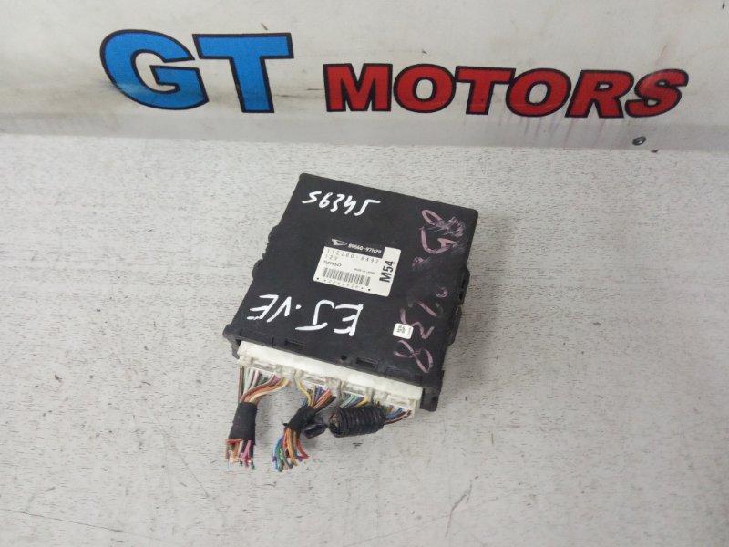 Компьютер (блок управления) Toyota Duet M100A EJ-VE