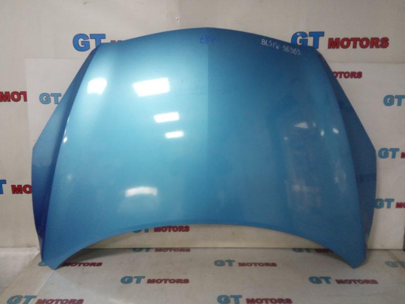 Капот Mazda Axela BL5FW ZY-VE 2010