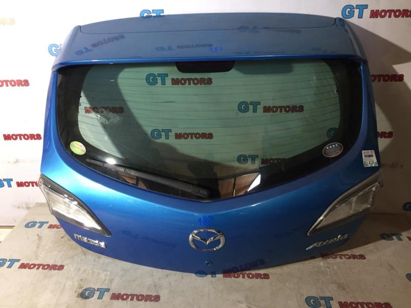 Дверь задняя багажника Mazda Axela BL5FW ZY-VE 2010 задняя