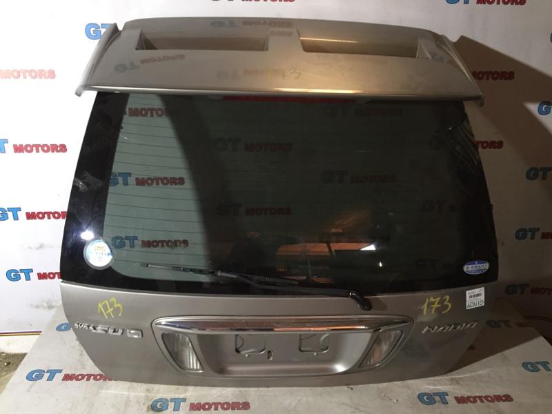 Дверь задняя багажника Toyota Nadia ACN10H 1AZ-FSE 2001