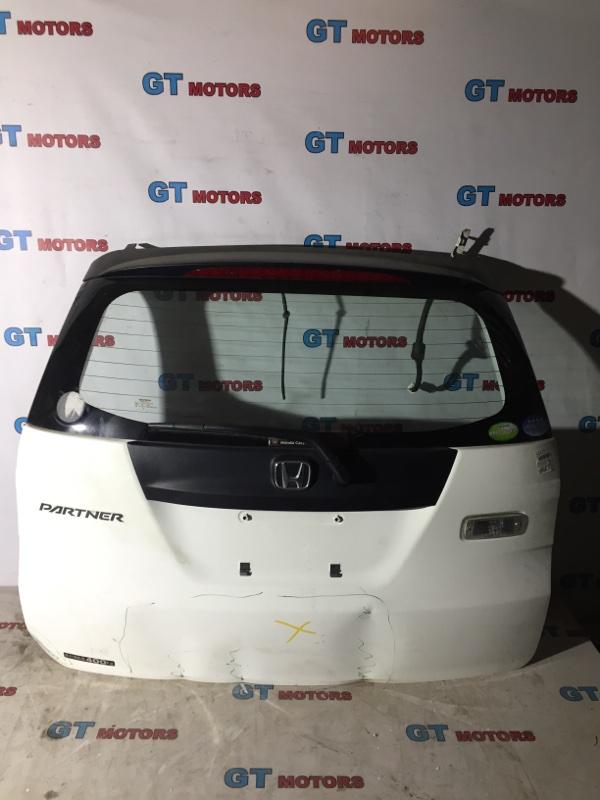 Дверь задняя багажника Honda Partner GJ3 L15A 2008