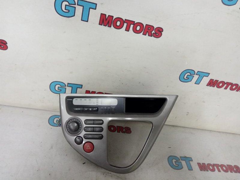 Блок управления климат-контролем Toyota Wish ZNE10G 1ZZ-FE 2005