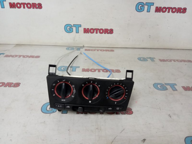 Блок управления климат-контролем Mazda Axela BK5P ZY-VE 2007
