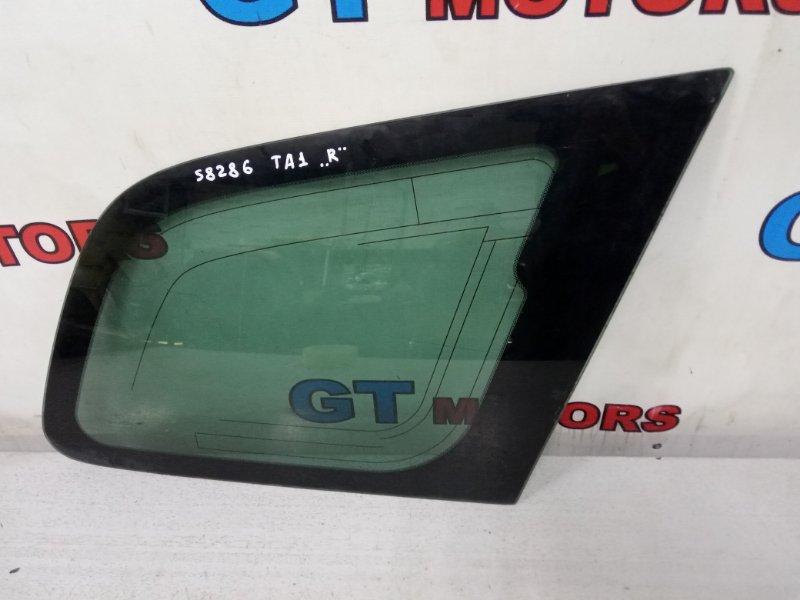 Стекло боковое Honda Avancier TA1 F23A заднее правое