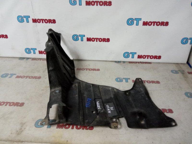 Защита двс Toyota Nadia ACN10H 1AZ-FSE 2001 передняя правая