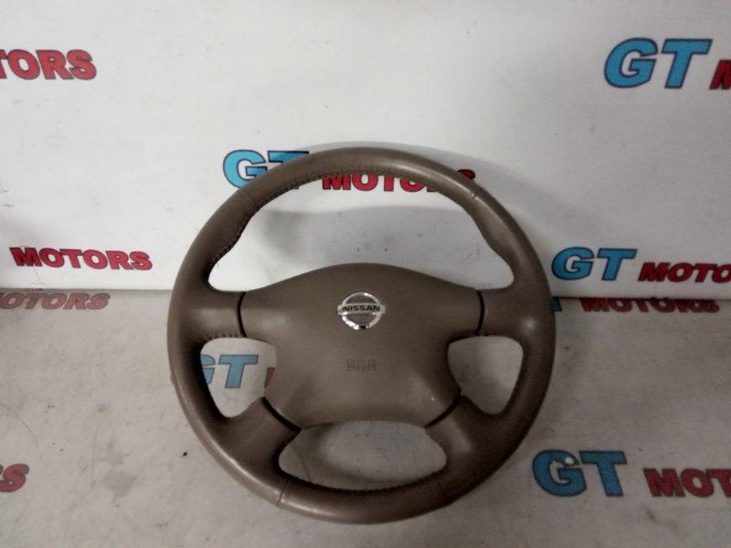 Руль Nissan Bluebird Sylphy QG10 QG18DE 2004
