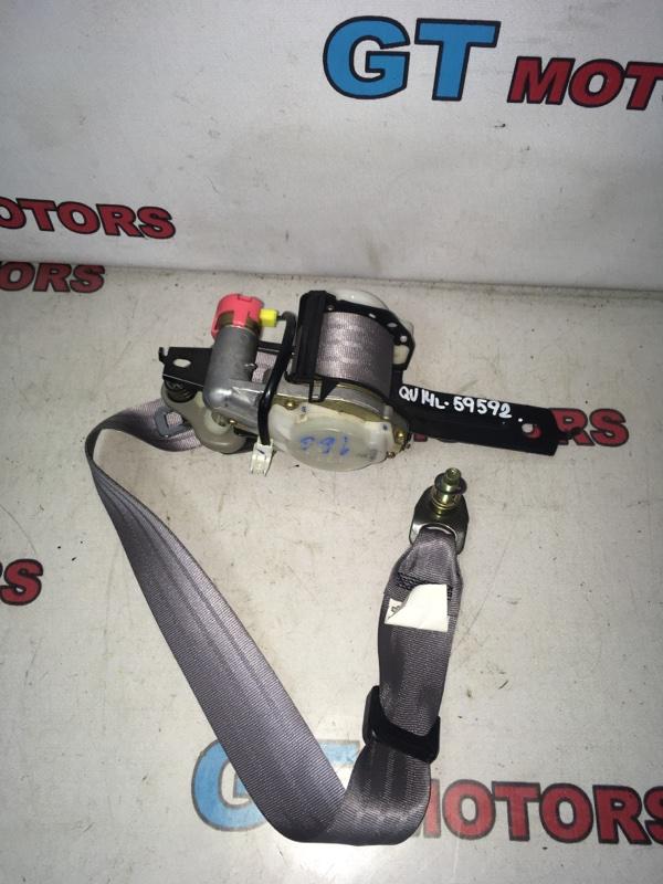 Ремень безопасности Nissan Bluebird QU14 QG18DE 2000 передний левый
