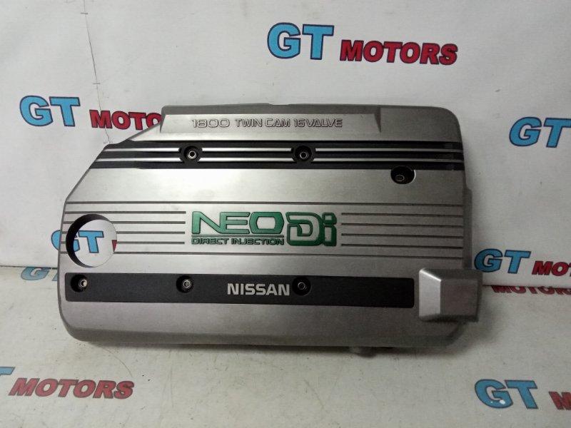 Крышка на двигатель декоративная Nissan Bluebird QU14 QG18DD 1999