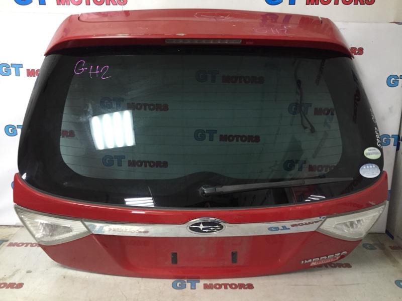 Дверь задняя багажника Subaru Impreza GH2 EL15 2008 задняя