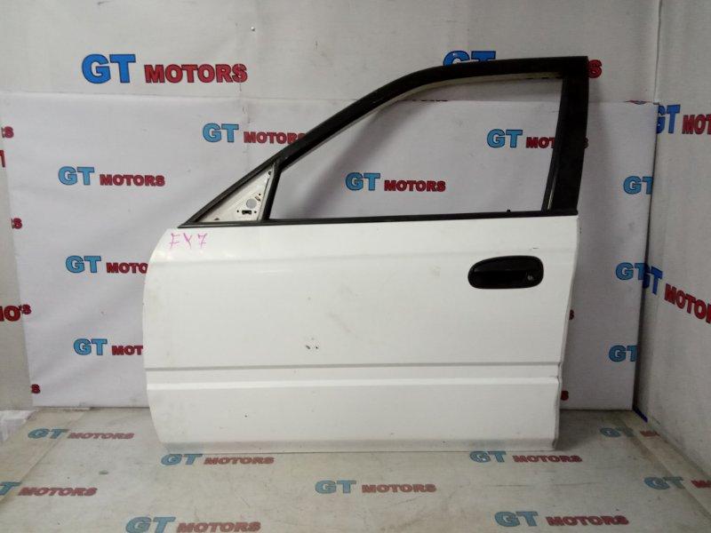 Дверь боковая Honda Partner EY7 D15B 2000 передняя левая