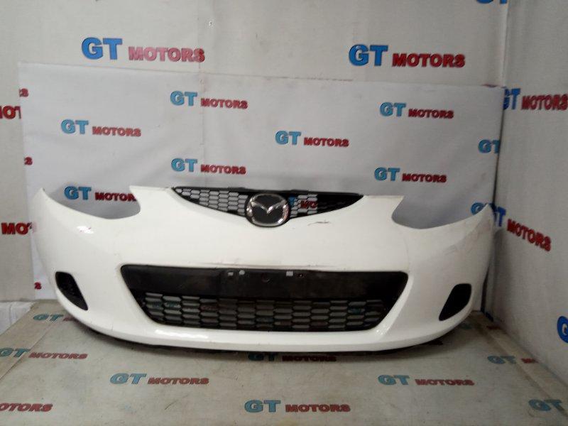 Бампер Mazda Demio DE3FS ZJ-VE передний