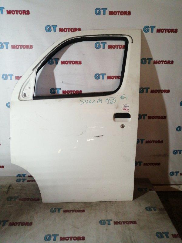Дверь боковая Toyota Town Ace S402M 3SZ-FE 2013 передняя левая