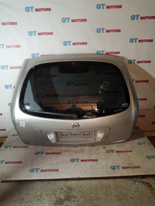 Дверь задняя багажника Nissan Primera WTP12 QR20DE