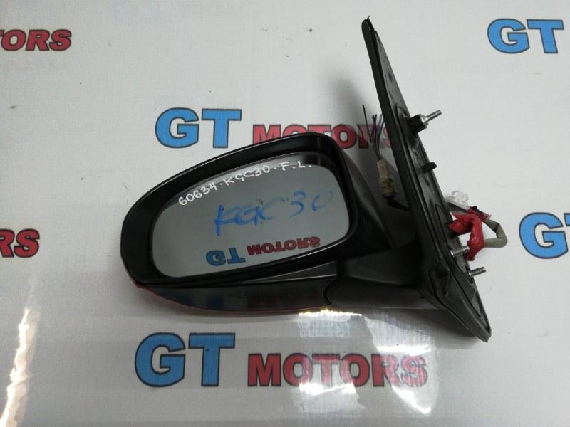 Зеркало боковое Toyota Passo KGC30 1KR-FE 2011 переднее левое