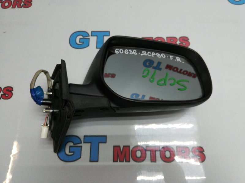 Зеркало боковое Toyota Ractis KSP90 2SZ-FE 2009 переднее правое