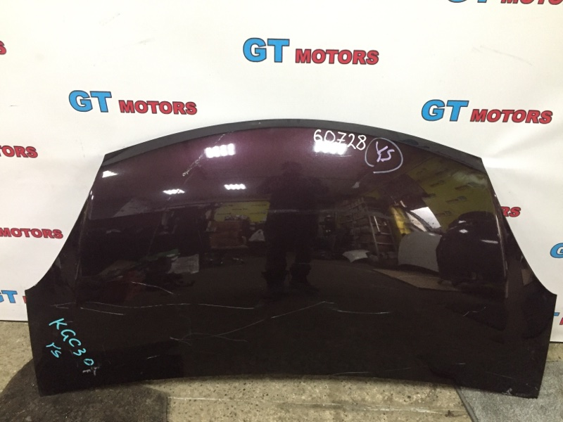 Капот Toyota Passo KGC30 1KR-FE