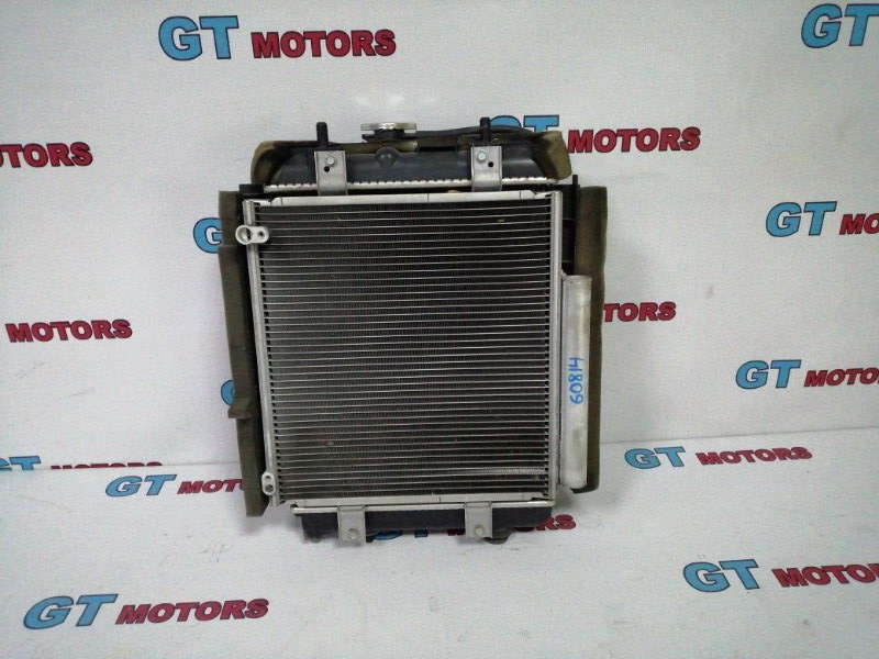 Радиатор кондиционера Toyota Passo KGC30 1KR-FE