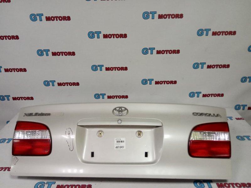 Крышка багажника Toyota Corolla AE110 5A-FE