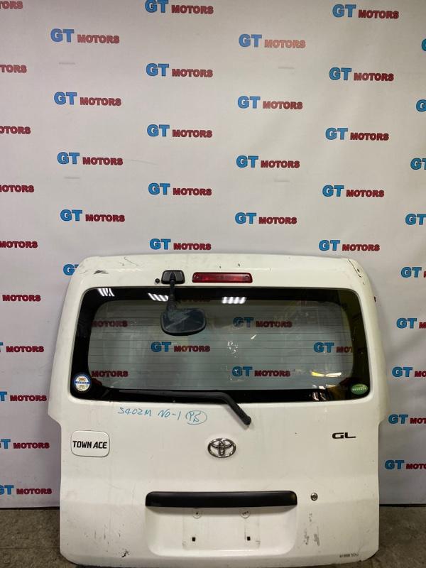 Дверь задняя багажника Toyota Town Ace S402M 3SZ-VE