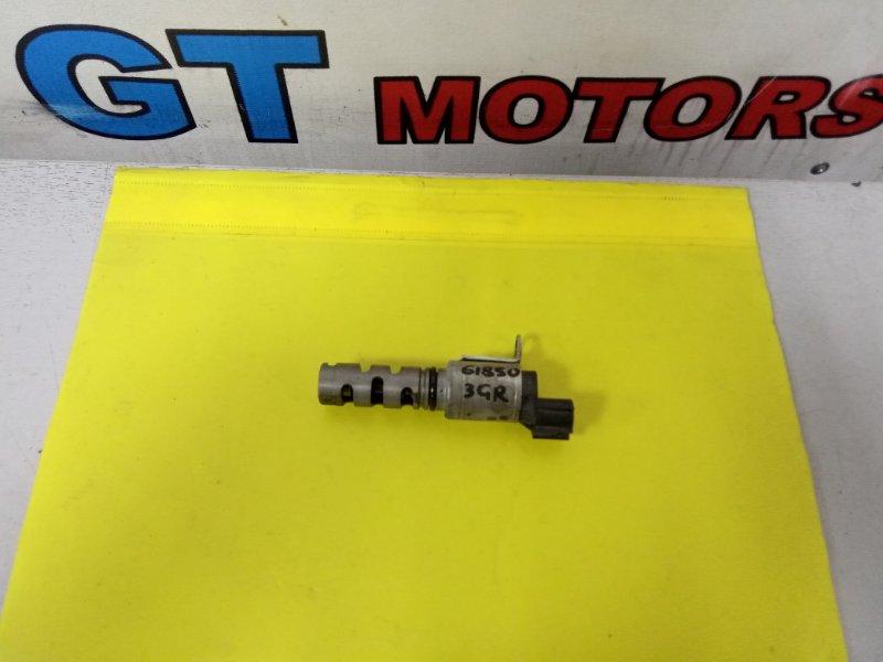 Клапан vvti Toyota Mark X GRX121 3GR-FSE